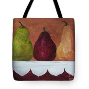 Pears On Parade   Tote Bag