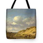 Peasants Driving Cattle And Sheep Tote Bag