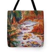 Pebbled Creek Tote Bag