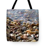 Pebbles On The Shore Tote Bag