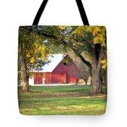 Pecan Orchard Barn Tote Bag