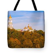 Pechersk Lavra Tower Bell Tote Bag