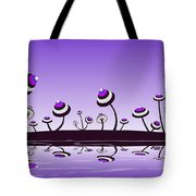 Peculiar Mushrooms Tote Bag