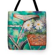 Pedal Petal Tote Bag