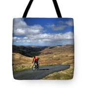 Pedalling The Pass Tote Bag