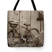 Pedals And Petals Tote Bag
