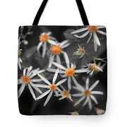 Pedals And Pollen Tote Bag