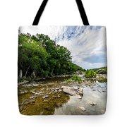 Pedernales River - Downstream Tote Bag