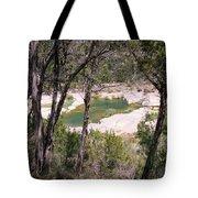 Pedernales River Pool In August Tote Bag