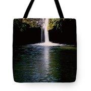 Pedernales Twin Falls-vpan Tote Bag