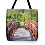 Pedestrian Bridge Tote Bag