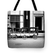 Pedicab Nyc Tote Bag
