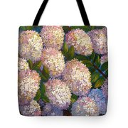 Peegee Hydrangeas Tote Bag