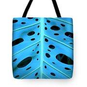 Peek-a-boo Leaf Tote Bag