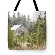 Peek At Our Farm Tote Bag
