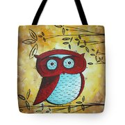 Peekaboo By Madart Tote Bag