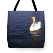 Peeking Over Tote Bag