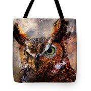 Peeking Owl Tote Bag