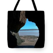 Peeking Through Tote Bag