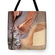 Peeling Bark - Horizontal Tote Bag