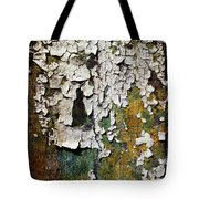 Peeling Paint Tote Bag