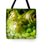 Peeping Through The Algae  Tote Bag by Optical Playground By MP Ray