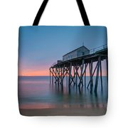 Peering Through The Clouds Tote Bag