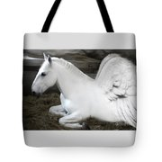 Pegasus Tote Bag by Lynn Jackson