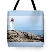 Peggy's Cove Light II Tote Bag