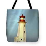 Peggy's Cove Lighthouse 2 Tote Bag