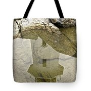Peggys Cove Reflection Tote Bag