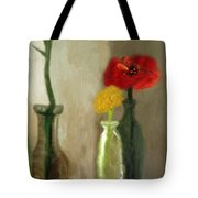 Peggy's Flowers Tote Bag