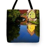 Pegnitz River In Nuremberg Tote Bag