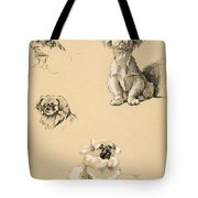 Pekes, 1930, Illustrations Tote Bag