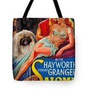 Pekingese Art - Salome Movie Poster Tote Bag