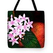 Pelargonium Graveolens II Tote Bag