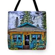 Pele's Lanai Island Hawaii Tote Bag