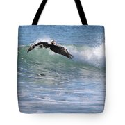 Pelican At Playa Grande Tote Bag