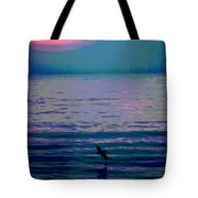 Pelican At Sunrise - Outer Banks Tote Bag