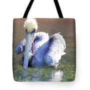 Pelican Blue Tote Bag