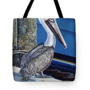 Pelican Blues Tote Bag