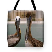 Pelican Couple Tote Bag