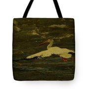 Pelican Flying Low Tote Bag