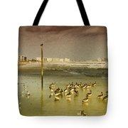 Pelican Haven Tote Bag