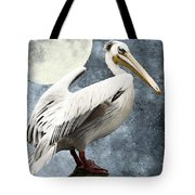 Pelican Night Tote Bag