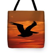 Pelican Profile Tote Bag