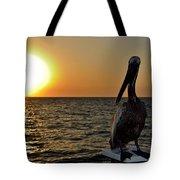 Pelican Sunset 2 Tote Bag