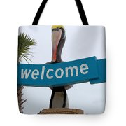 Pelican Welcome Tote Bag