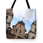 Pelourinho Church Tote Bag
