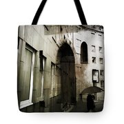 Pelted Streets  Tote Bag